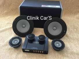 Audio speaker mobil by Avatar 3way,processor codia,subwoofer cello ^_^