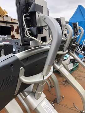 Treadmill elyptical spin bike