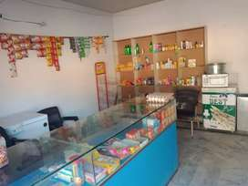 Running General store for sale prime location, Rent 16000