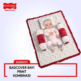 Bedcover Bayi Matras Tidur Bayi Set Bantal Guling Baby Dialogue