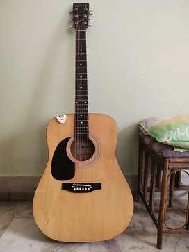 Falcon Natural Finish Acoustic Guitar