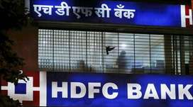 HDFC Bank Hiring Fresher/Exp. Candidate