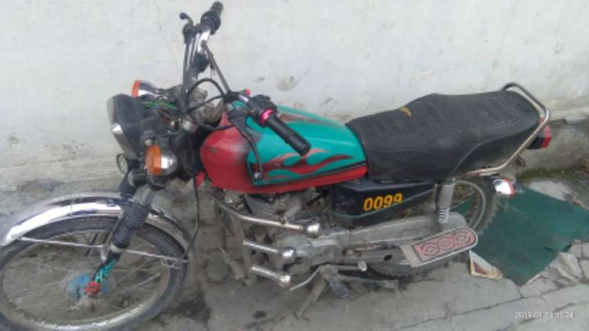 125cc bike for sale 1983 model weight 220 kgs condition used 0