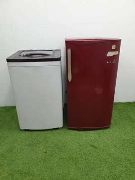 Id77 godrej aixs refrigerator with godrej washingmachine combo offer