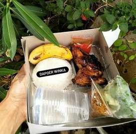 Paket ekonomis dan halal (ayam bakar madu)