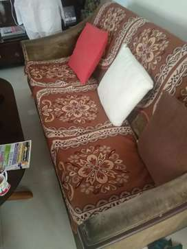 Sheesham wood sofa 5 seater