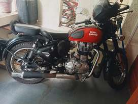 Royal Enfield/bullet Classic 350 Model BS4 Age 1year and10months