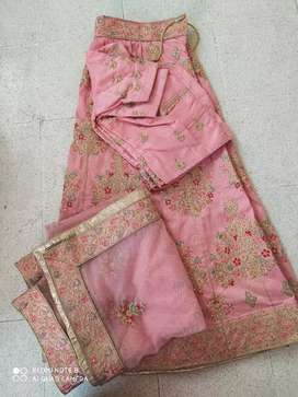 Full heavy embroidery ghaghra choli and gown