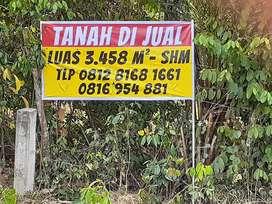 Jual Tanah pinggir jalan Palembang - Jambi
