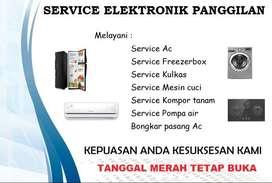 Service Ac , Bongkar pasang Ac , Isi freon Ac - service Mesin cuci