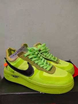 Sepatu Basket Air Force 1 x Off White Volt