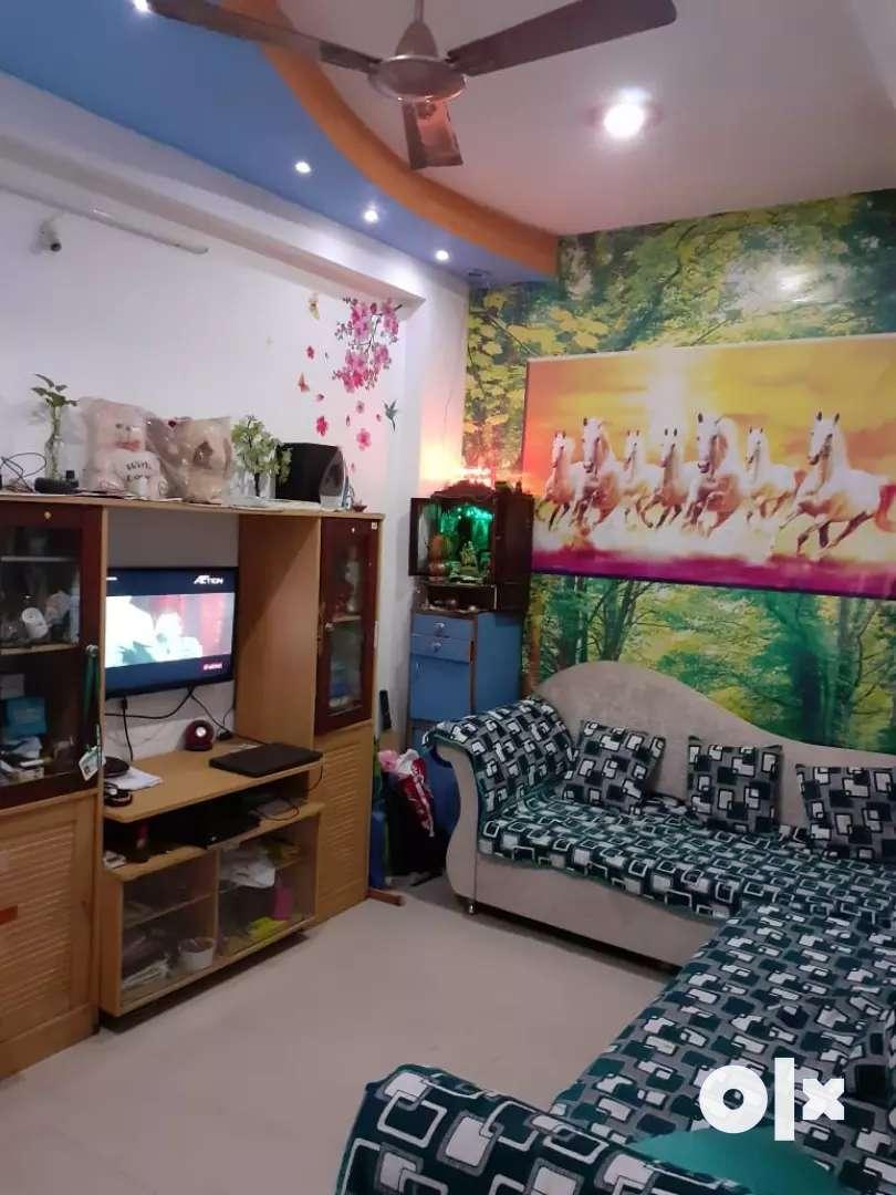 1 bhk flat on rent Gokul nagar kanadia road 0