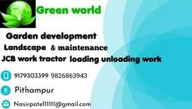 Landscape garden development