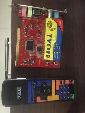 Intex TV Tuner card