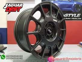 Pelek Mobil HSR R16 ARROW Ring 16 Lebar 7 Pcd 4X100 & 4x14,3 Bronze