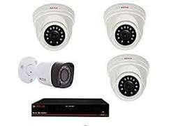 4CH HD CCTV Camera installation