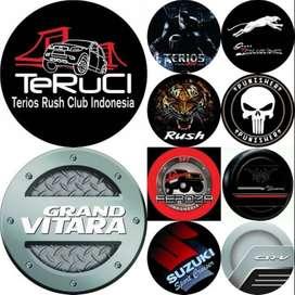 Cover/Sarung Ban Serep Daihatsu Terios/Rush/Vitara design  segera mili
