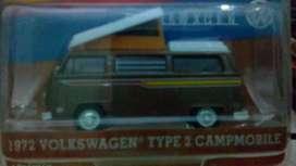 Diecast volkwagen combi camping coklat tua(81)