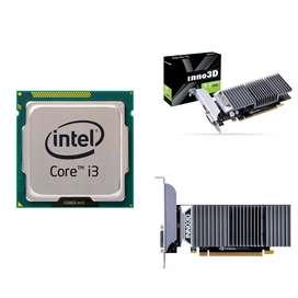 GeForce GT1030 GPU + i3 3rd Gen CPU