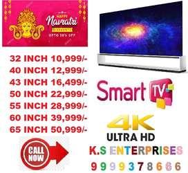 32 inch smart android led tv framelss model [ Navratri Special Offer }