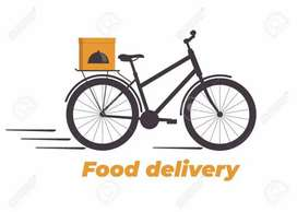 Good earning for this job for food company bikers and cyclists.