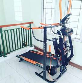 Treadmill manual 6in1 bisa kredit