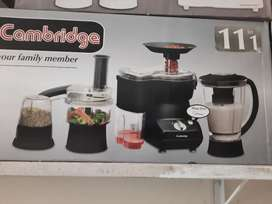 Cambridge food factory11in1 warranty 2 years