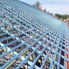Rangka atap yang kuat dan kokoh