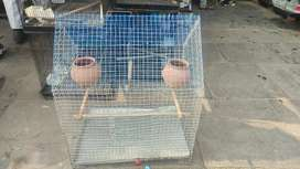 Big metal cage