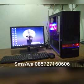 1unit cpu am3,athlon II x2 270,ddr3 4gb,vga 1gb,hdd 250gb+LED Lg 16