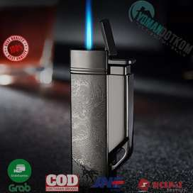 CL004 Firetric Focus Korek Api Butane Compact Torch Lighter