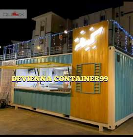 Cafe Container restoran Container kedai kopi container #booth