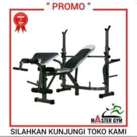 #MasterGymSolo BENCH PRESS MULTI Fitness Equipment Dll  (MG ID#1028)