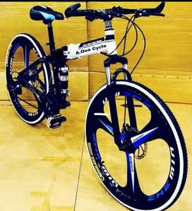 Folding cycle with 21 speed gears sport model