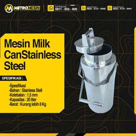 Milk Can Stainless