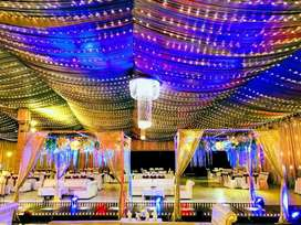 Tent Service, Catering & Light Decoration..
