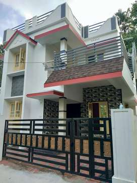 3 bhk 1500 sqft 3 cent house at edapally varapuzha near thirumuppam
