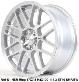 RAI-S1 HSR R17X75 H8X100-114,3 ET40