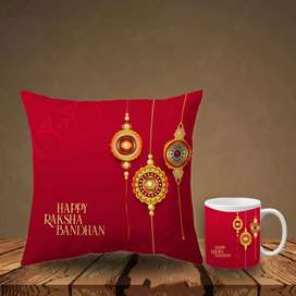 Cup and cushion set best packing new