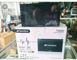 double din fullglass thump 880rb sansui monitor 580rb