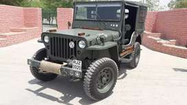 Original style open willys  from cj3b4 chassis