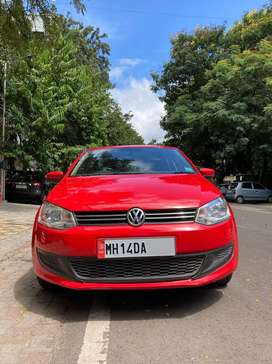 VW Polo Diesel Red Very Good Condition