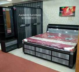 Brand new bedroom combo set (bhuyang de)