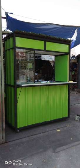 ROMBONG / BOOTH CONTAINER (KREDIT)