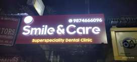 Receptionist in Dental Clinic