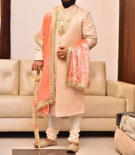 Sherwani only one time wear with all accecories
