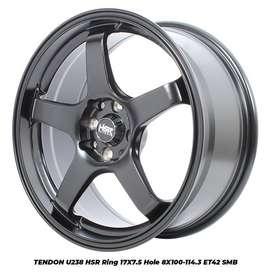Velg + Ban Ring 17 HSR Buat Mobil Mazda2 Avega Vios Harga Termurah