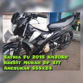 Satria Fu 2015 Km20Rban Nol Spet Mesin Kuempel