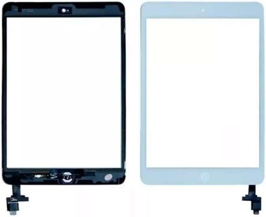 Kaca Touchscreen Ipad Mini 1 / Mini 2 (Ready hitam & Putih) 0