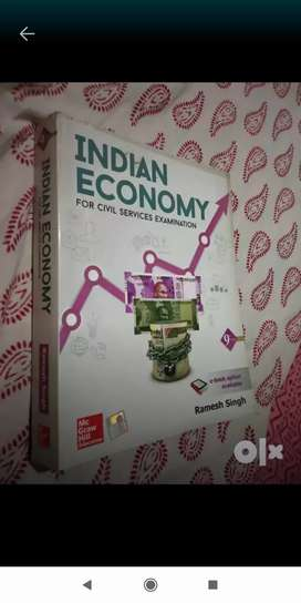 Indian economy book by Ramesh singh